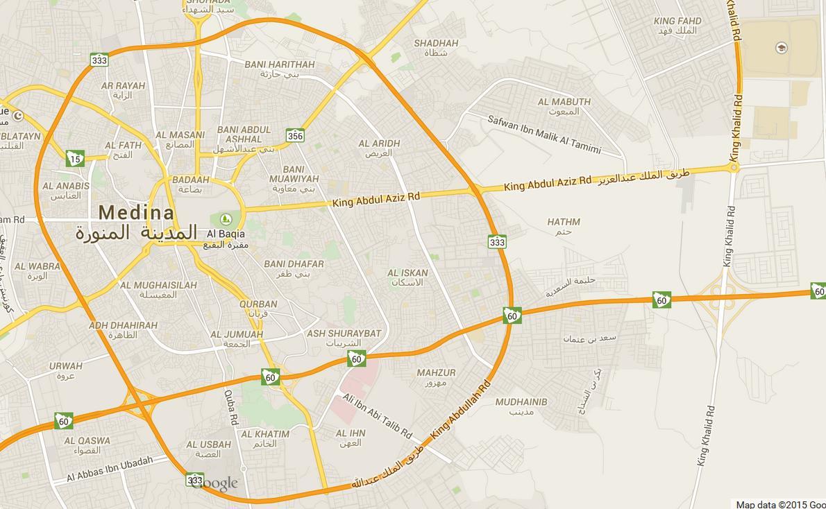 خريطة المدينة المنورة اين تقع المدينه المنوره احاسيس بريئة