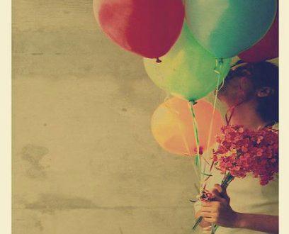 صورة صور بنات مع بالونات , دلعي نفسك وعيشي سنك
