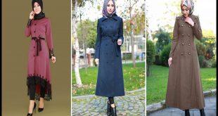 صورة معاطف تركية طويلة للمحجبات , الجمال التركي اللي علي حق