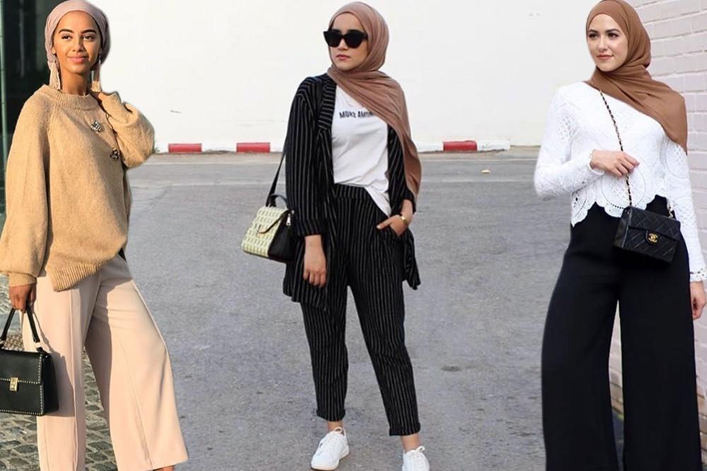 صورة حجاب فاشون 2019 , تميزي بحجابك عزيزتي 1461 7