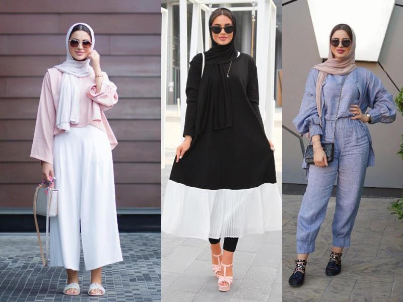 صورة حجاب فاشون 2019 , تميزي بحجابك عزيزتي 1461 9