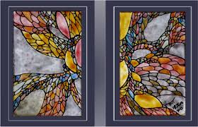 صورة صور رسم على الزجاج , عالم الرسم والفنون