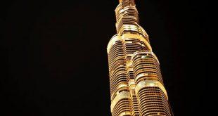 صورة برج خليفة كم طابق , معلومات عن برج الخليفه
