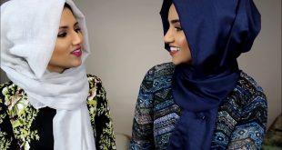 صورة كوني متميزه بحجابك,كيفية عمل الحجاب